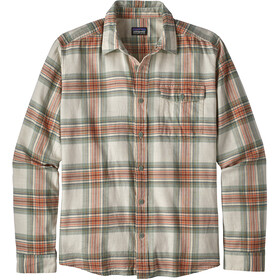 Patagonia M's Lightweight LS Flannel Shirt Whyte/Celadon